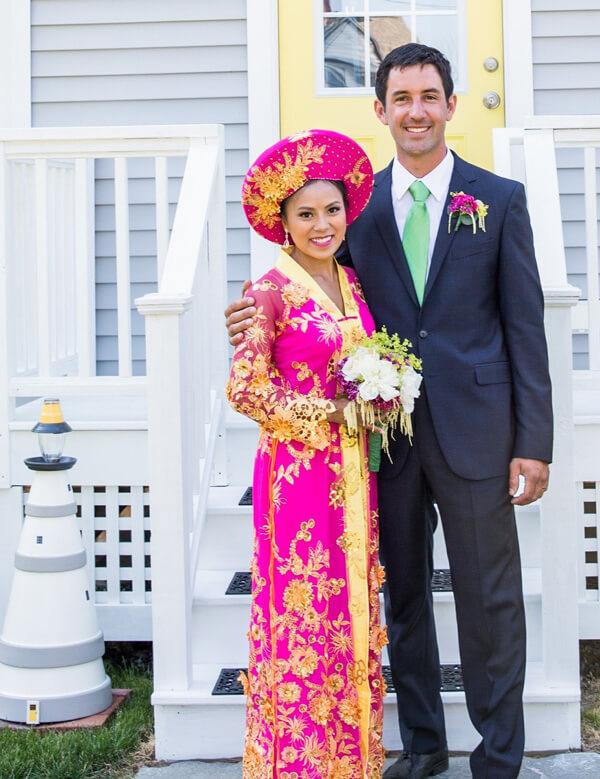 Nhi Mulkern wedding photo