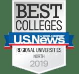 U.S. News & World Report Best Colleges North 2019